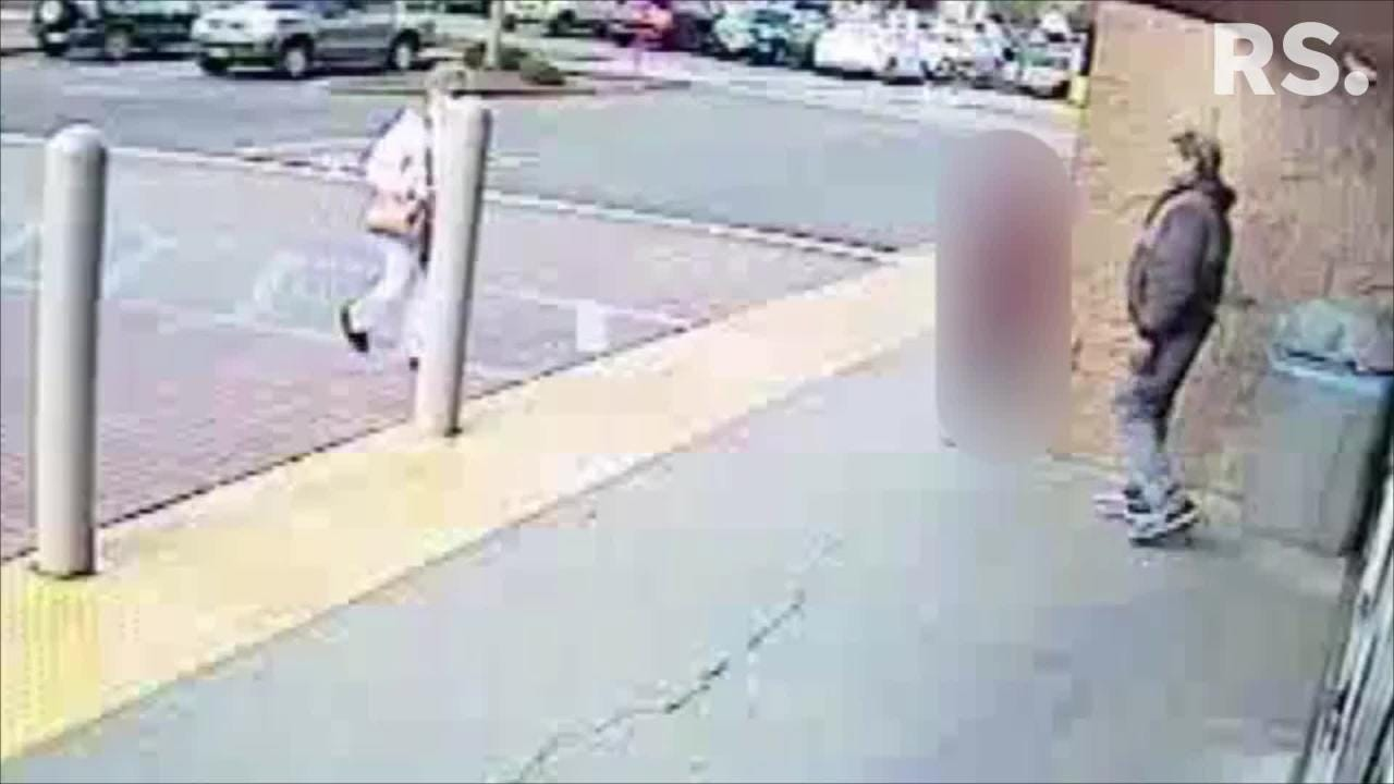 Redding police have released surveillance video in hopes the public can identify the man suspected of molesting a Girl Scout outside Walmart on Feb. 16.
