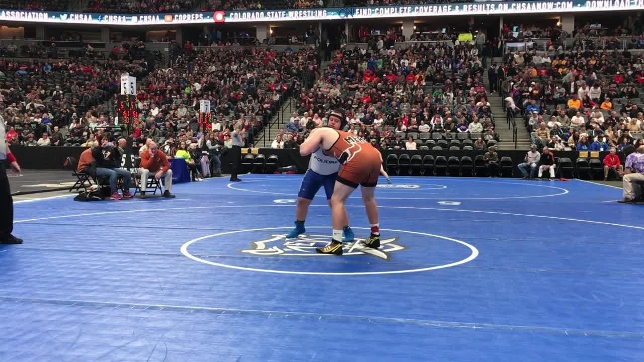 Amateur wrestling match 15