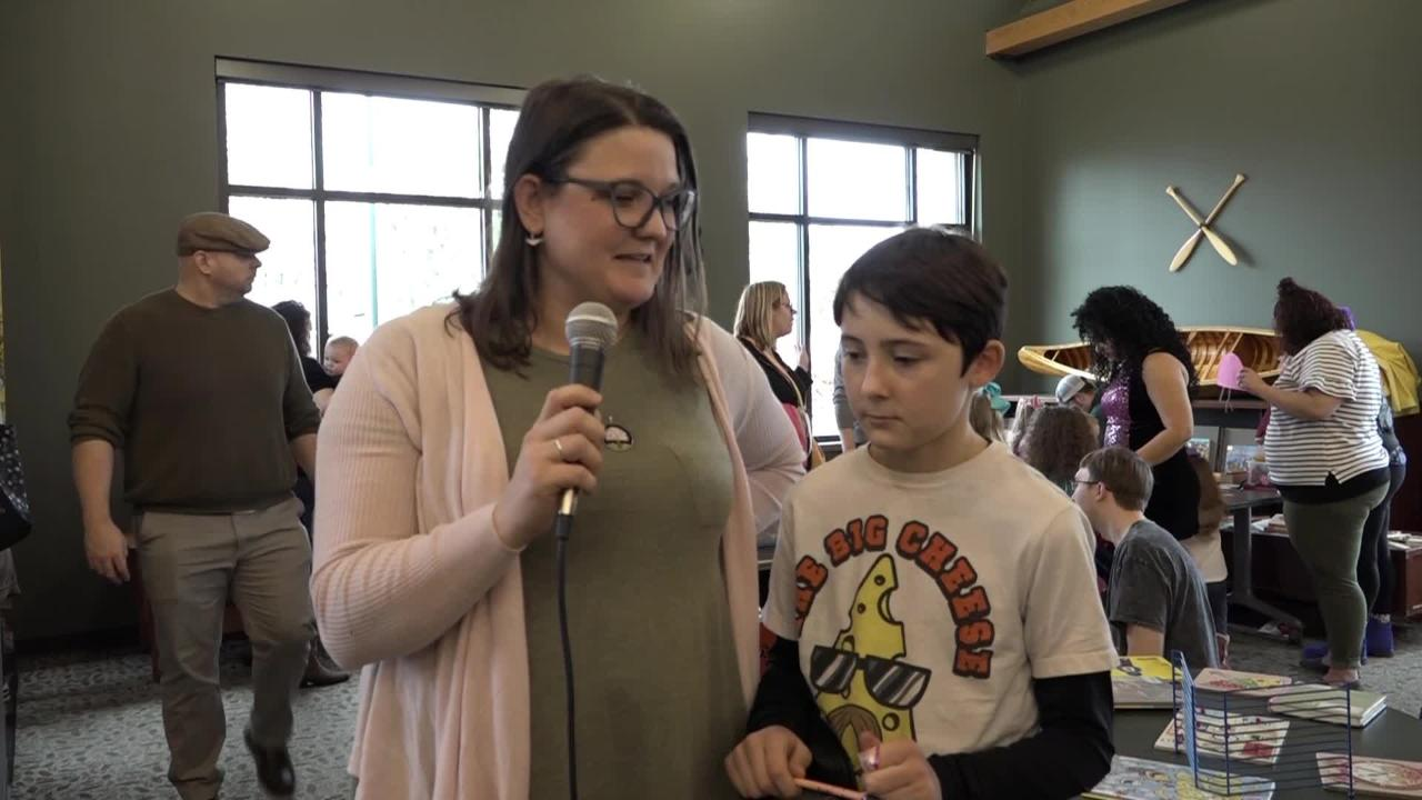 Hear from those who attended Drag Queen Story Hour at Evansville Vanderburgh Public Library North Park on Feb. 23, 2019.