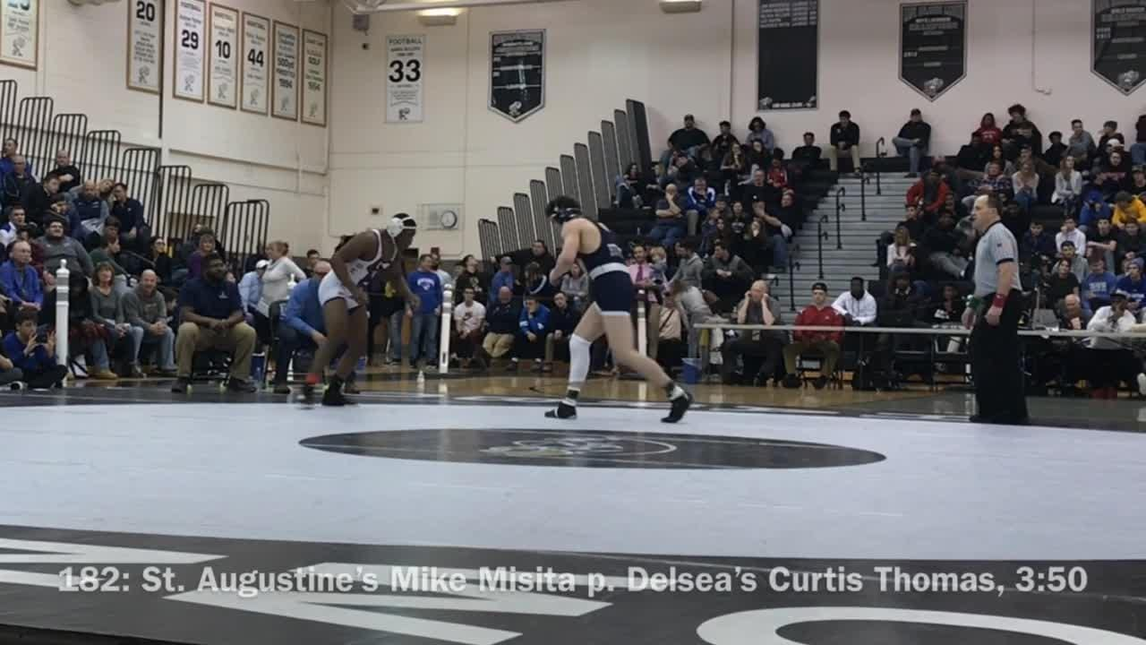 Highlights from the Region 8 Wrestling Tournament.