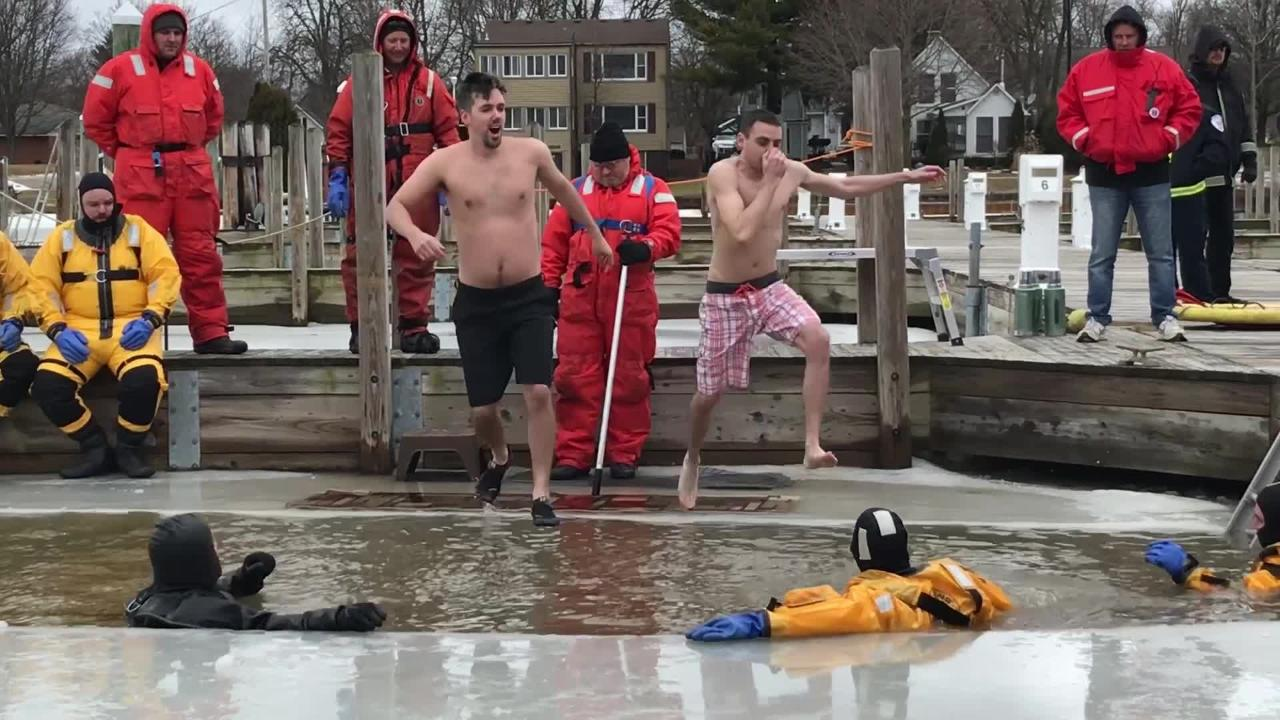 The annual St. Clair Polar Plunge was held Sunday, Feb. 24, 2019. The event is a fundraiser for Special Olympics Michigan.