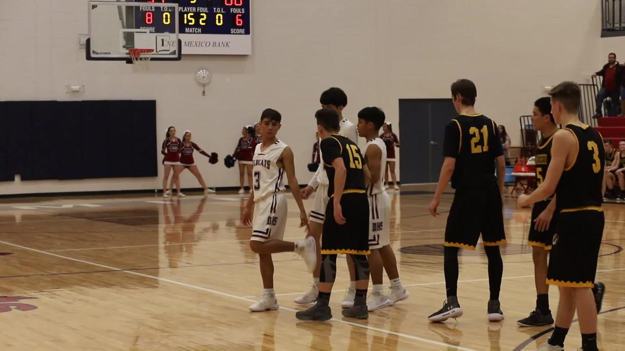 Deming High Wildcats take final shot in 60-59 overtime loss to Alamogordo