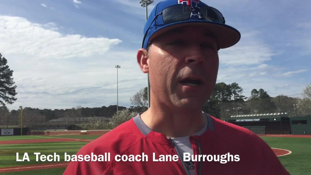 Louisiana Tech head baseball coach Lane Burroughs discusses his team's early-inning offense through seven games.