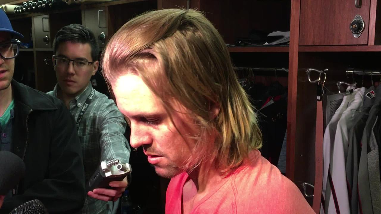 Diamondbacks right-hander Zack Greinke said his command was good and he felt strong in his two-inning outing against the A's on Monday.