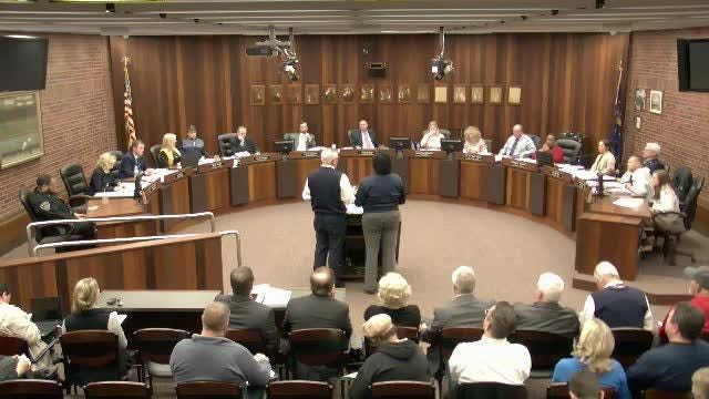 Council took questions about appropriations for an app developed for the Evansville Promise Zone.
