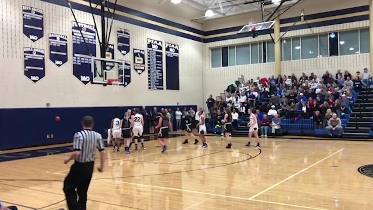 Kennard-Dale girls' basketball lost a wild 56-44 game to Bishop McDevitt in the District 3 semifinals. Check out all of the action here.