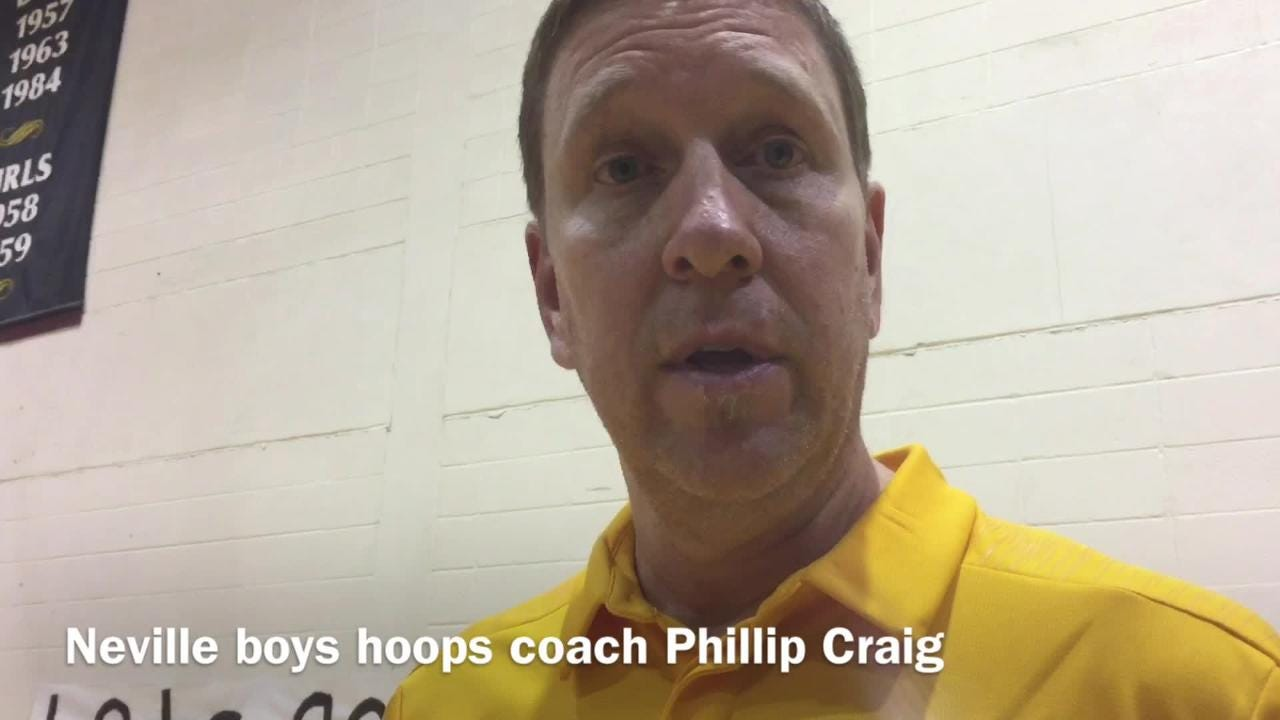 Neville boys basketball coach Phillip Craig reflects on the things his team accomplished throughout the 2018-19 campaign.