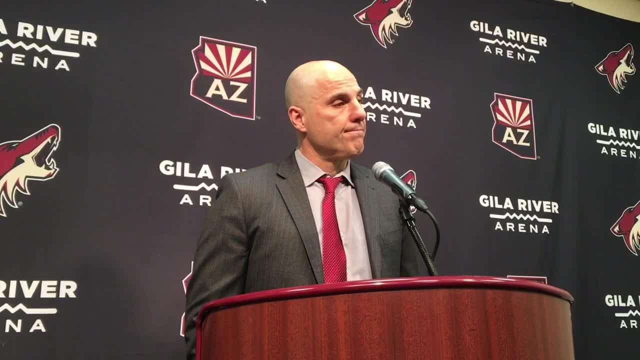 Coyotes head coach Rick Tocchet breaks down 4-3 shootout win vs. Panthers