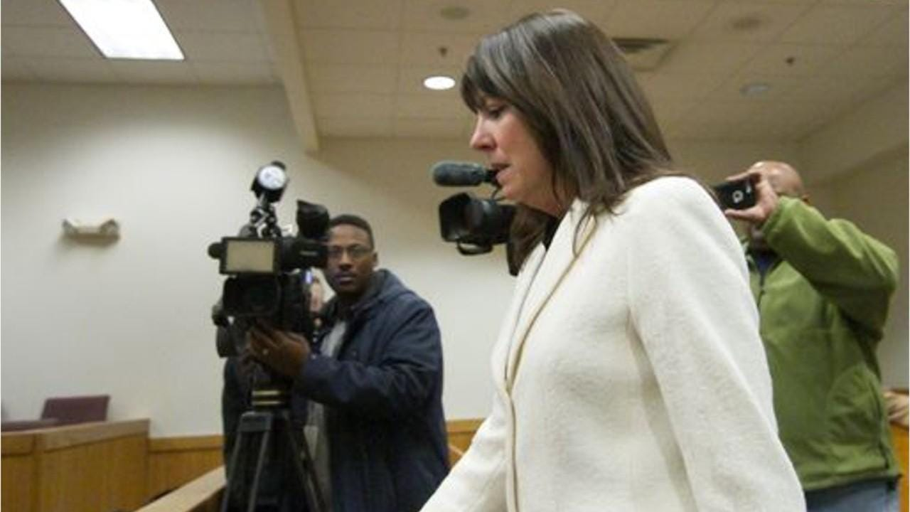 Livingston County Judge Theresa Brennan was suspended with pay at the end of February. She faces criminal charges as well.