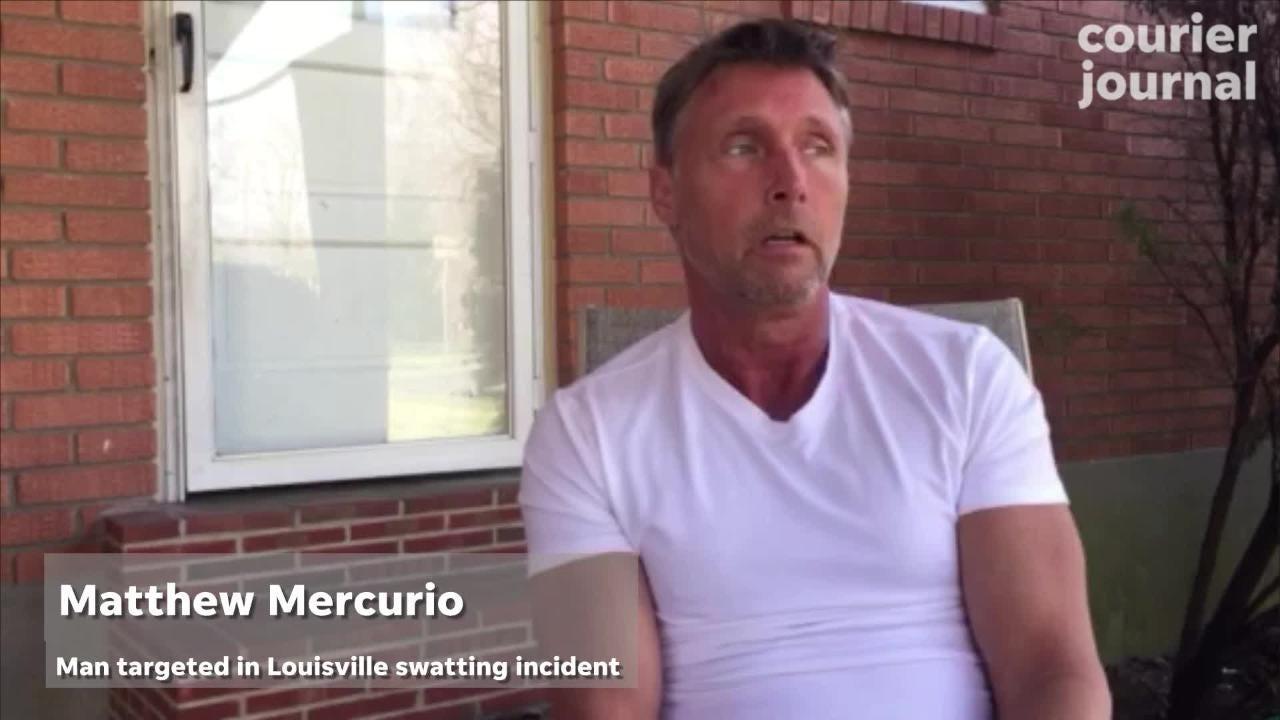 Louisville 'swatting' victim Matthew Mercurio talks about the incident