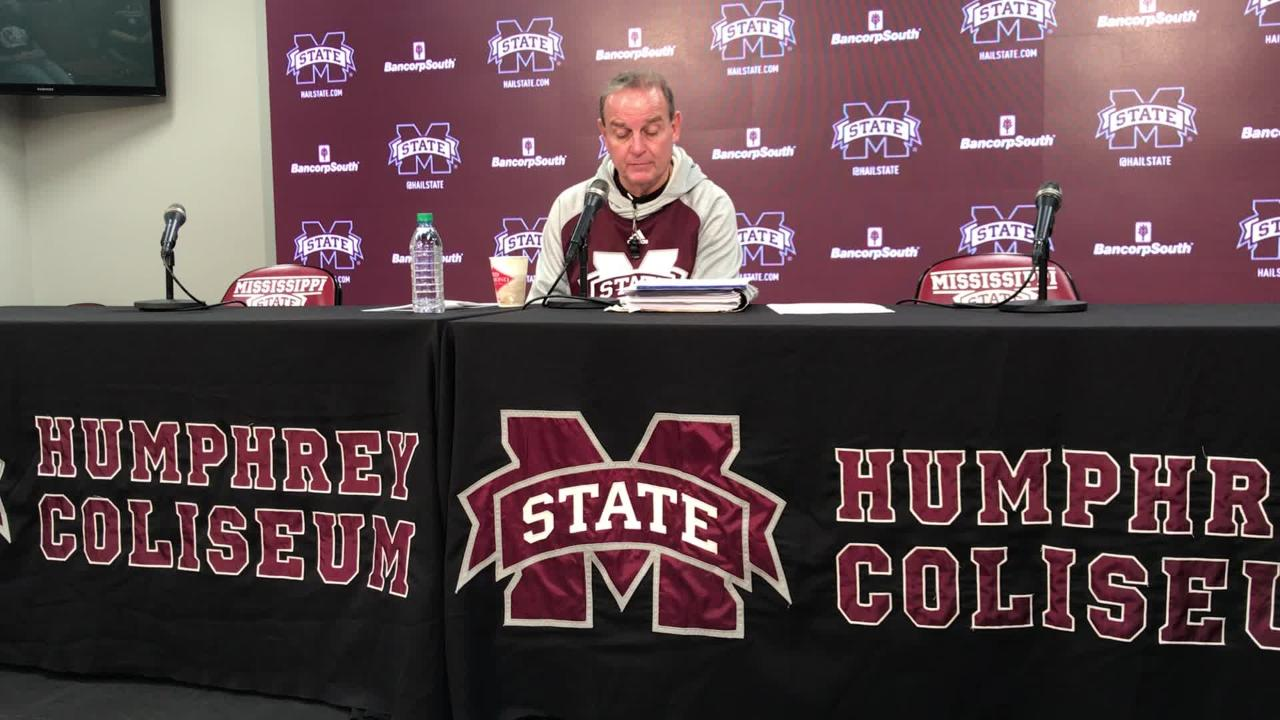 Mississippi State head coach Vic Schaefer previews Bulldogs versus LSU