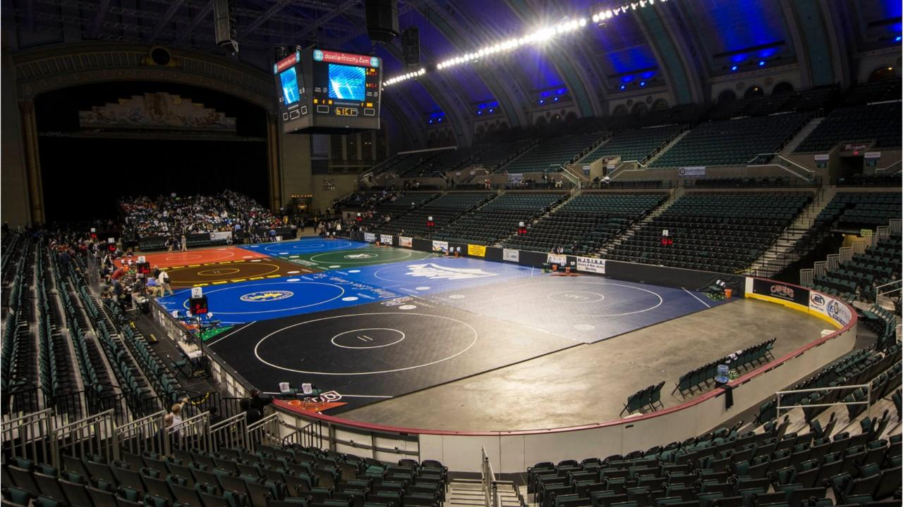 Atlantic City's Boardwalk Hall will be the site where dreams will come true for 24 wrestlers this weekend