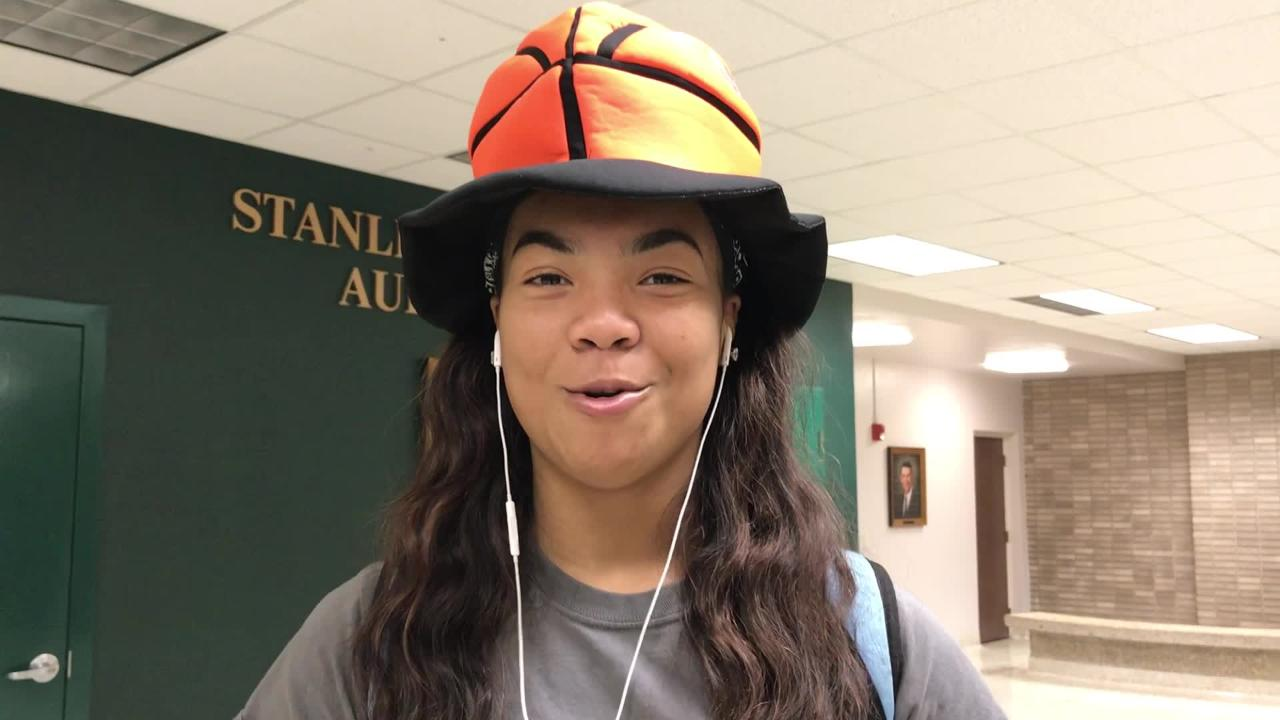 Captain Shreve's Nahja Scott talks about her team's chances in Rapides Coliseum