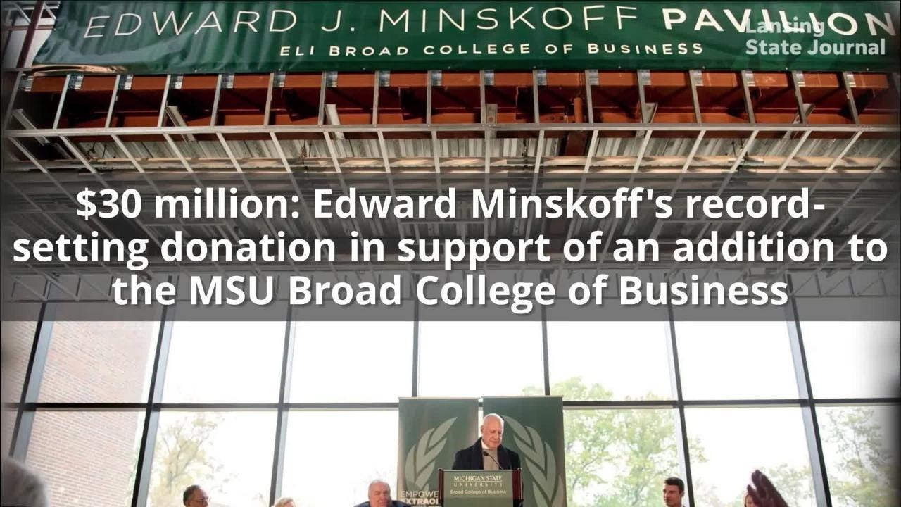 Michigan State University raised $1.83 billion in its most recent fundraising campaign.