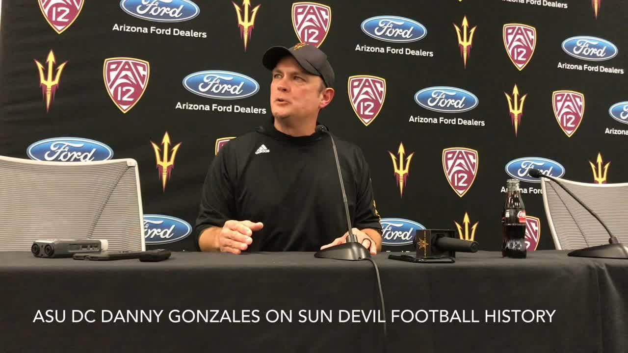 ASU defensive coordinator Danny Gonzales on importance of knowing Sun Devil history, 1997 Rose Bowl