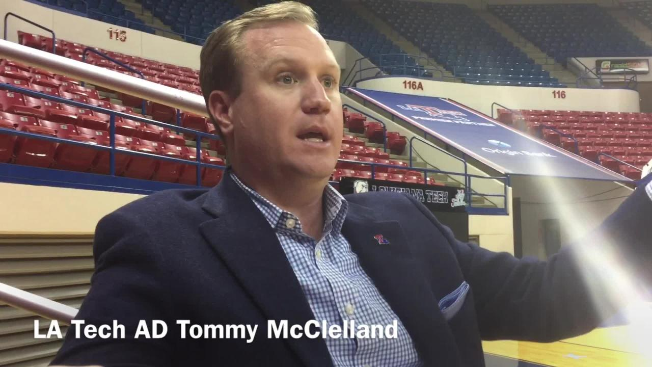Louisiana Tech Athletics Director Tommy McClelland discusses new Conference USA bonus play and how Tech men's team factors into it.