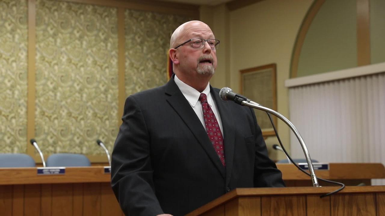 Zanesville Mayor Jeff Tilton's State of the City speech, part 1