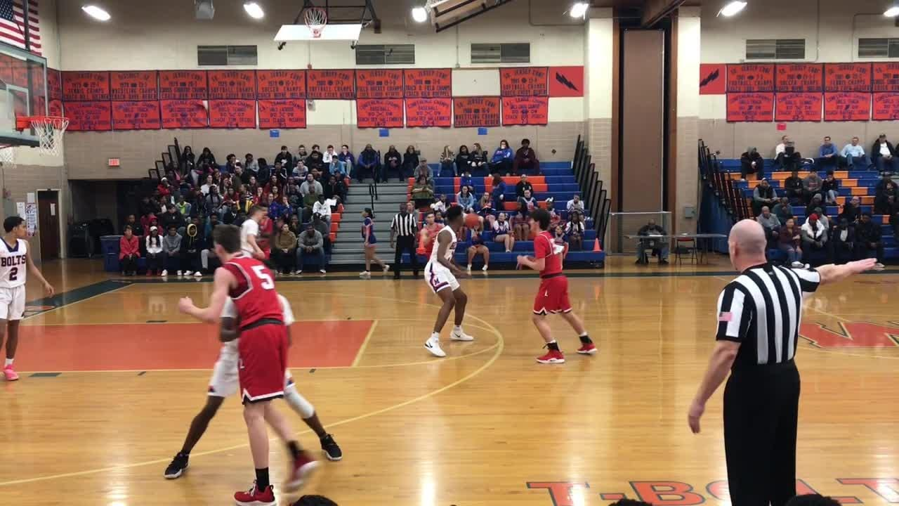 Millville boys basketball earned a 46-35 victory over Lenape in the South Jersey Group 4 quarterfinals on Wednesday