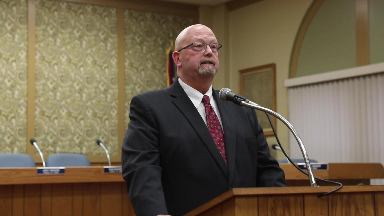 The second part of Zanesville Mayor Jeff Tilton's state of the city address.