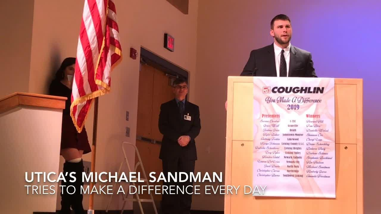Teachers from every school district in Licking County were honored at the 20th You Made A Difference, sponsored by Coughlin Automotive.