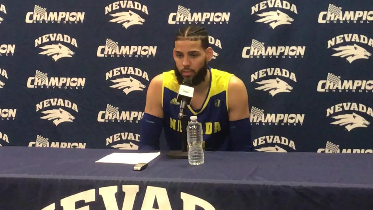 Nevada's Cody Martin discusses his play against UNLV and what's next for the Wolf Pack.