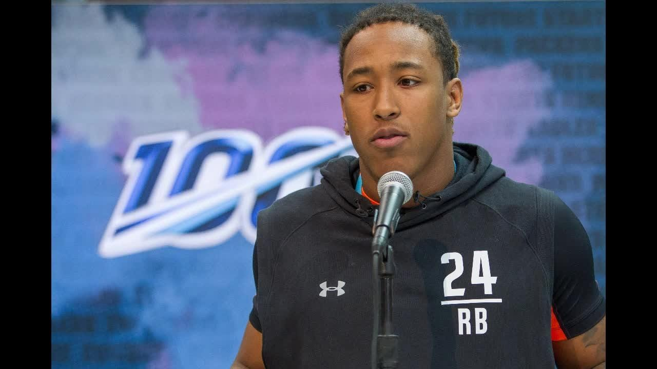 separation shoes 6d59f af10a Benny Snell eager to prove himself at NFL combine