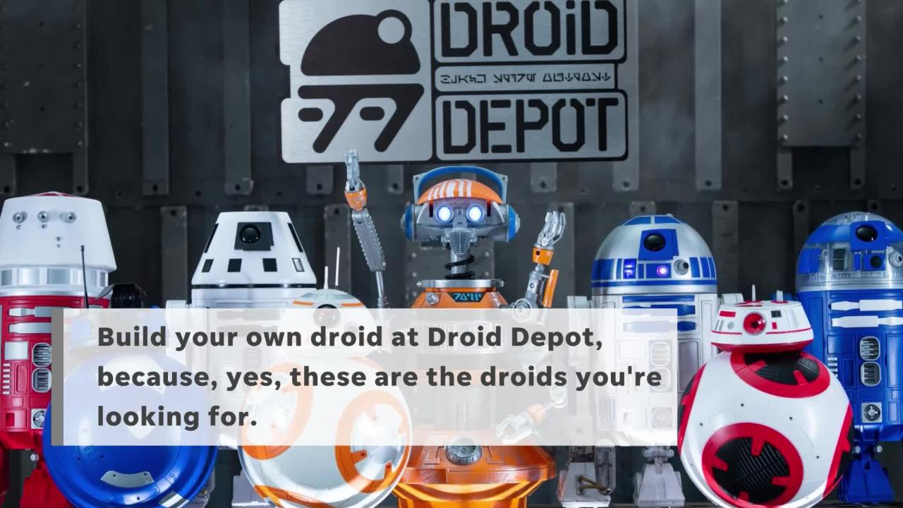 Calendrier Pass Disney.Take A Sneak Peak Into Star Wars Galaxy S Edge At Disneyland