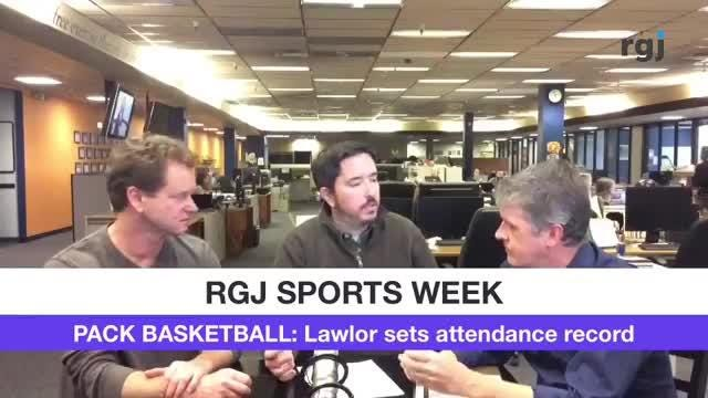 The RGJ SportsWeek! crew is back at it, with plenty of Wolf Pack basketball thoughts. And  we tried out some new tech, too.