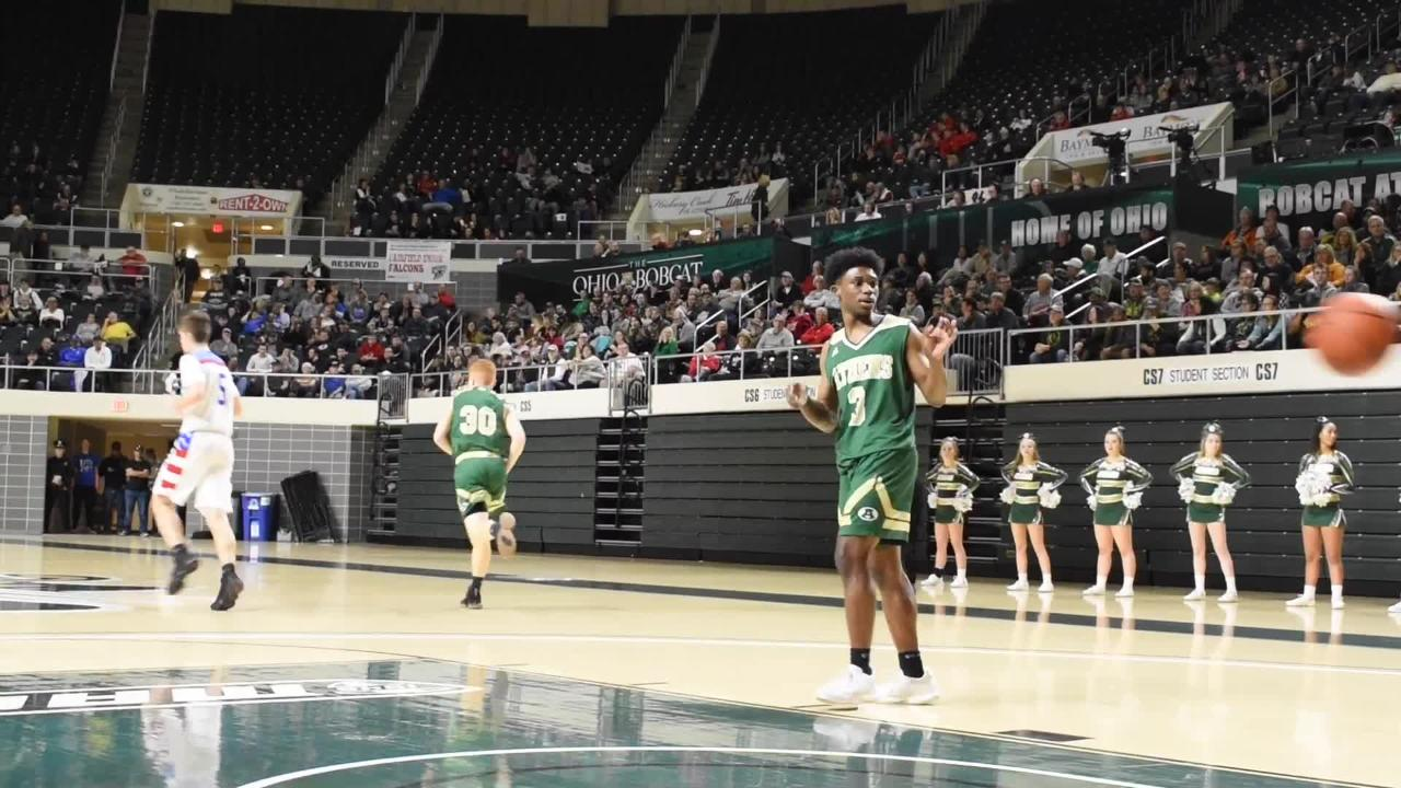 Zane Trace defeated Athens 48-28 in a Division II district semifinal on Thursday at OU's Convocation Center. Here are highlights from the game,