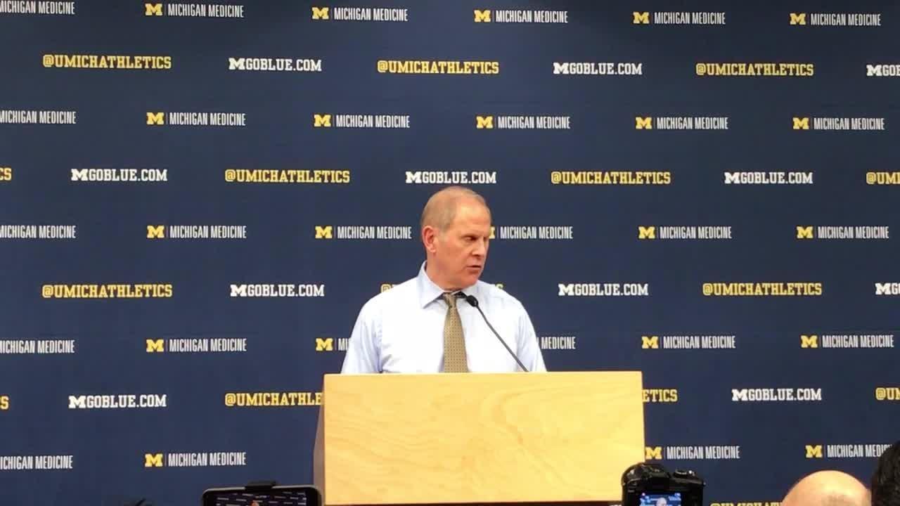 Michigan's John Beilein recaps 82-53 win over Nebraska, says it was a 'great bounce-back' game. Recorded Feb. 28, 2019.