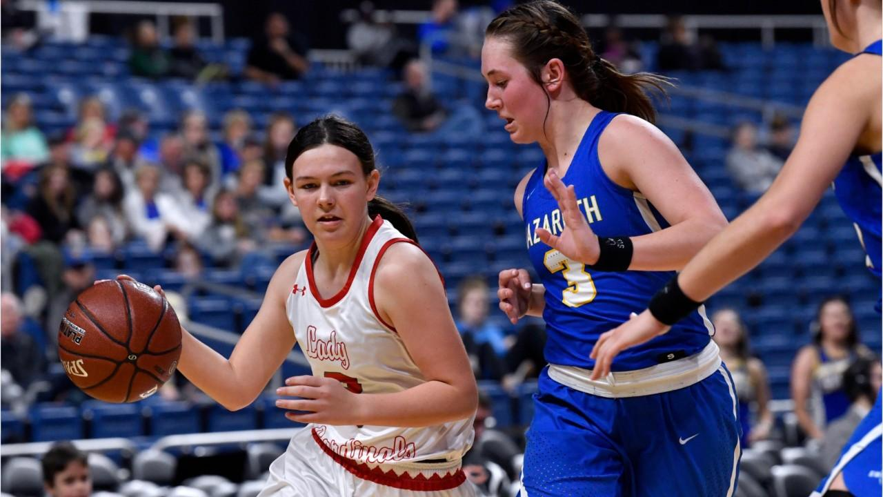 Hermleigh girls clash with Nazareth again in Class 1A state basketball semifinals