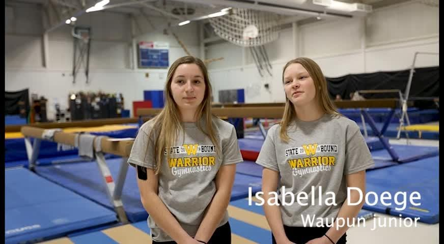 The Waupun gymnastics team qualified for its third team state tournament in four years.