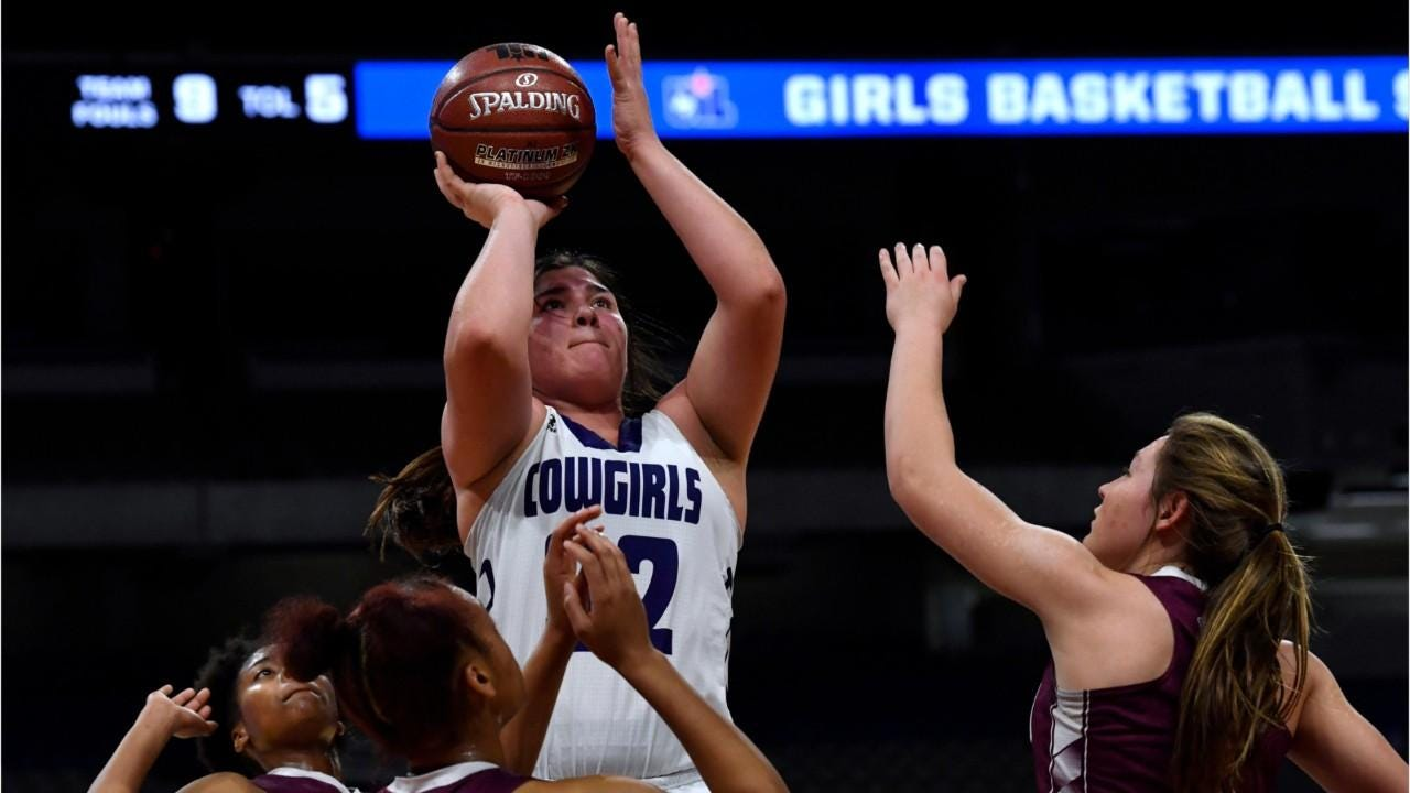 The Mason girls basketball team's hopes of winning a state title were derailed by Grapeland at the Alamodome in San Antonio on Friday, March 1.