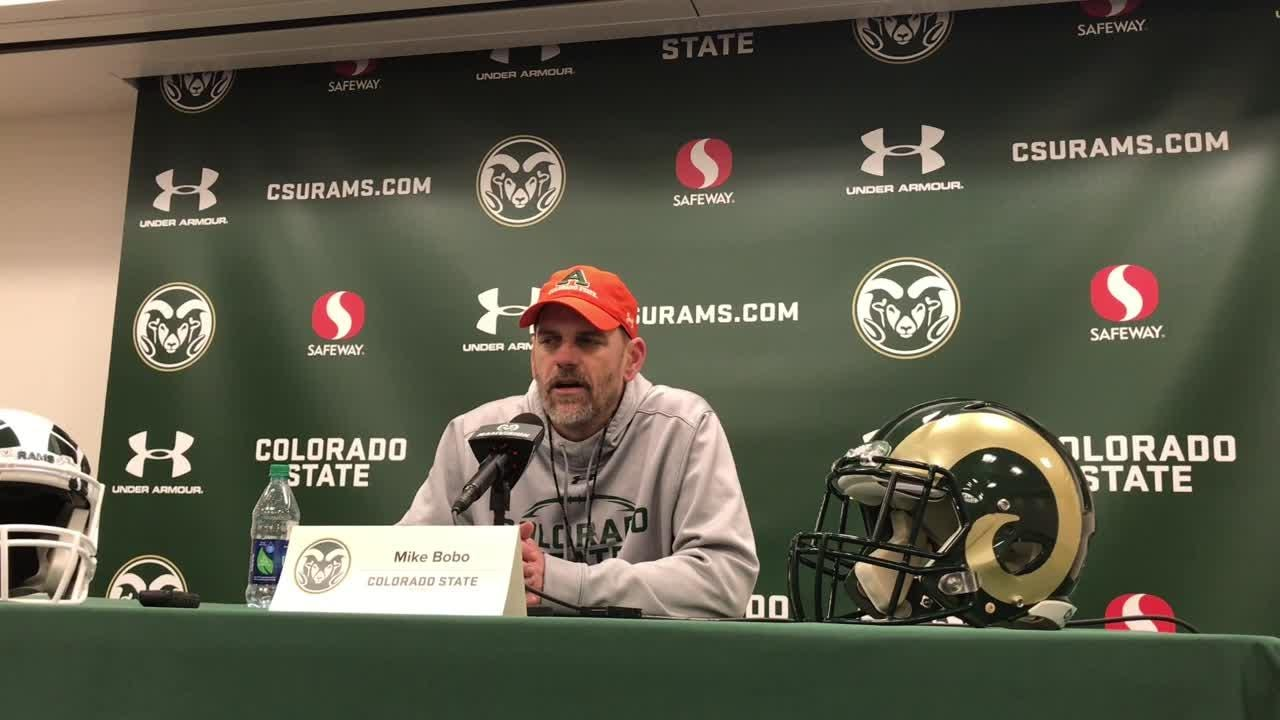 Colorado State University's fifth-year coach wants to see more physical play from his team in its second spring scrimmage than he saw in the first