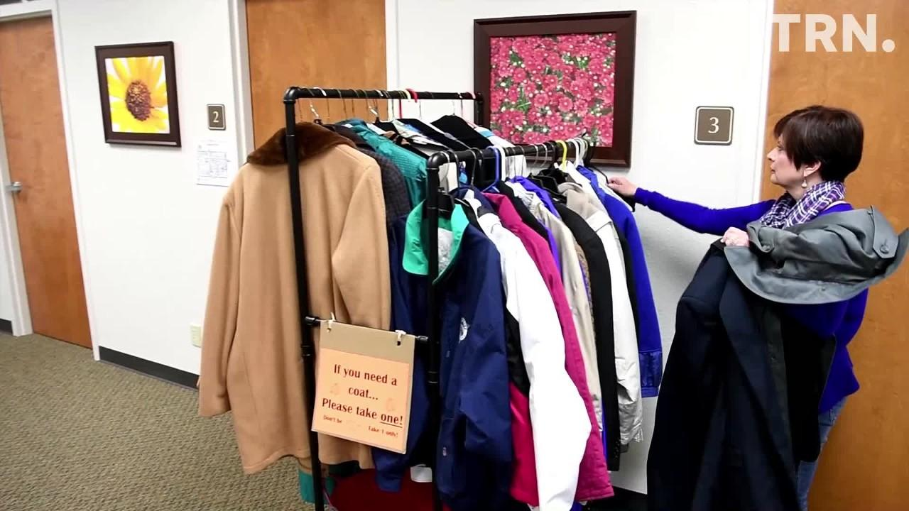 InterFaith Outreach Services has a community coat closet for people who need a winter coat.