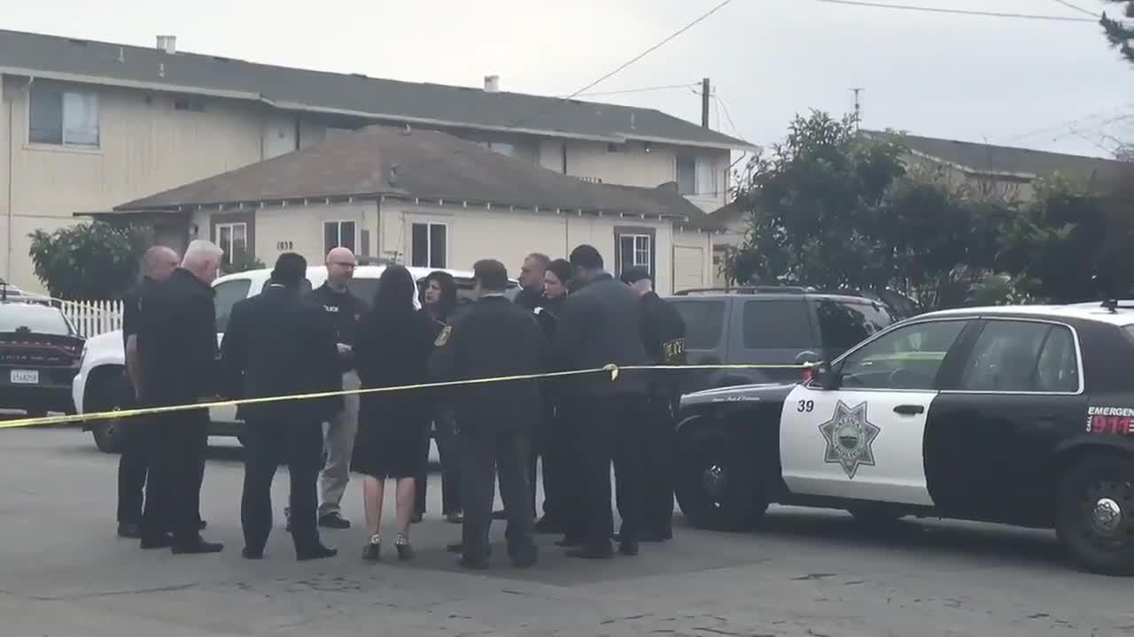 Salinas police opened fire during a standoff in East Salinas on Friday afternoon.
