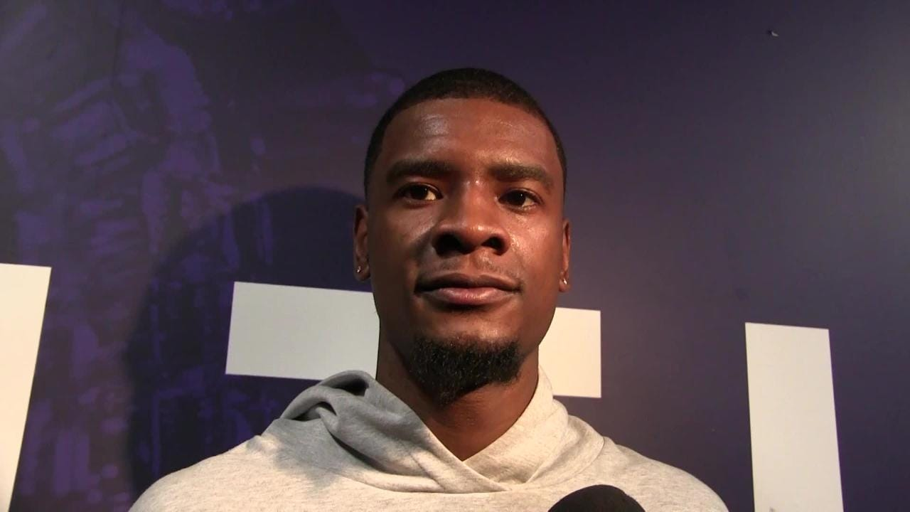 Josh Jackson talks about why he missed the autograph event earlier this week, apologizes to fans and addresses fine before Phoenix plays New Orleans.