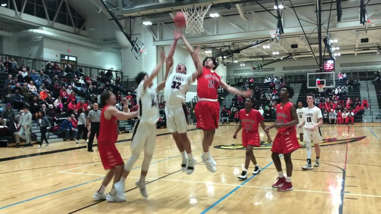 Highlights from the Elmira boys basketball team's 69-56 win over Binghamton in the Section 4 Class AA final March 1, 2019 at Corning-Painted Post HS.