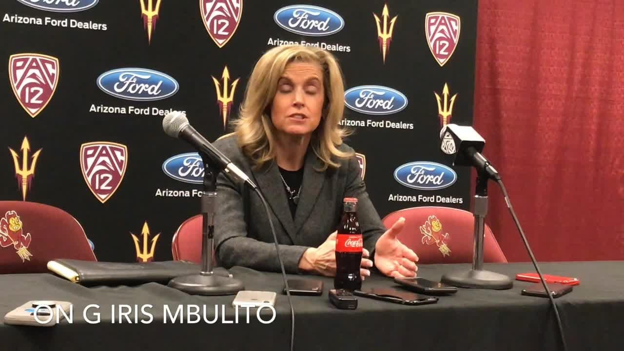 ASU WBB coach Charli Turner Thorne on upset win over No. 9 Oregon State