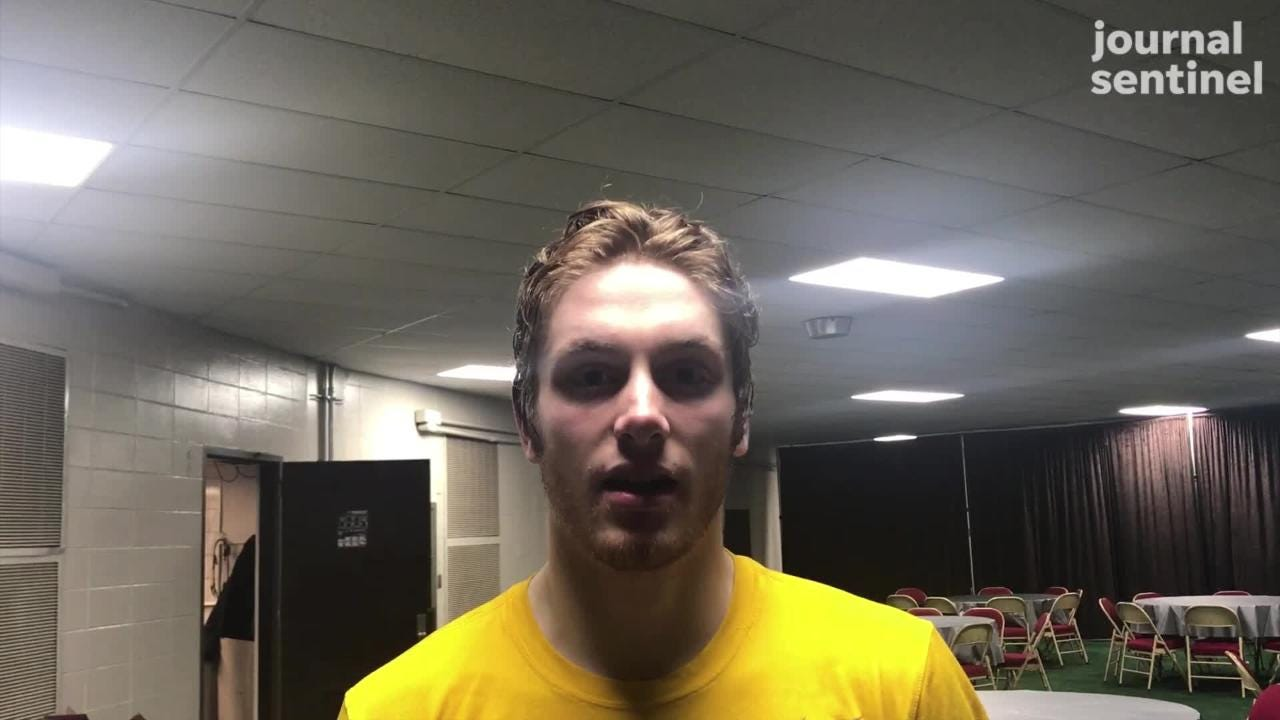 University School junior Tyler Herzberg talks about having the opportunity to play for a state title Saturday.