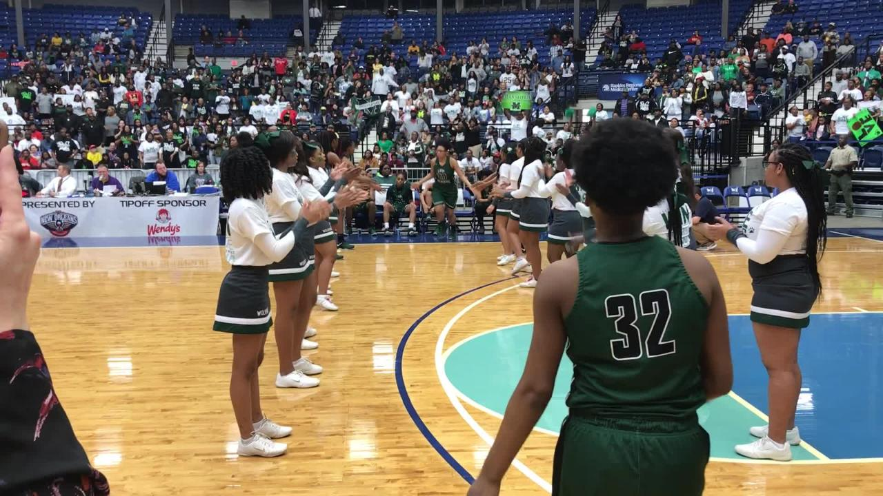 First look Mansfield: Lady Wolverines introduced in Rapides Coliseum
