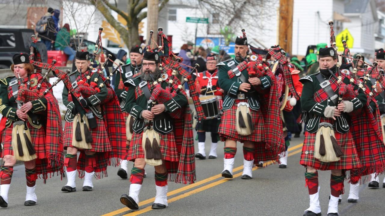Thousands of people packed into Wappingers Falls on Saturday to watch the 24th annual Dutchess County St. Patrick's Day Parade, which included dozens of floats and bands. Video by Jack Howland/Poughkeepsie Journal