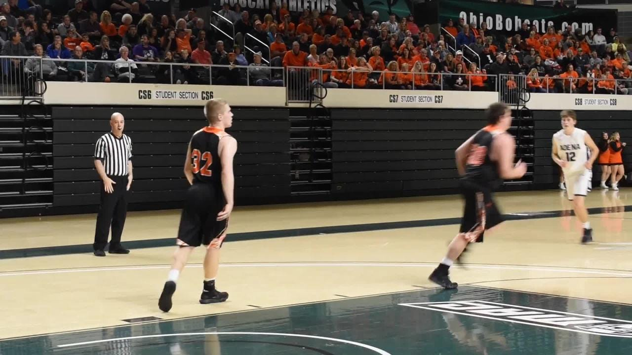 Adena defeated Ironton 43-36 in the district semifinal on Saturday. Here are their highlights from the win.