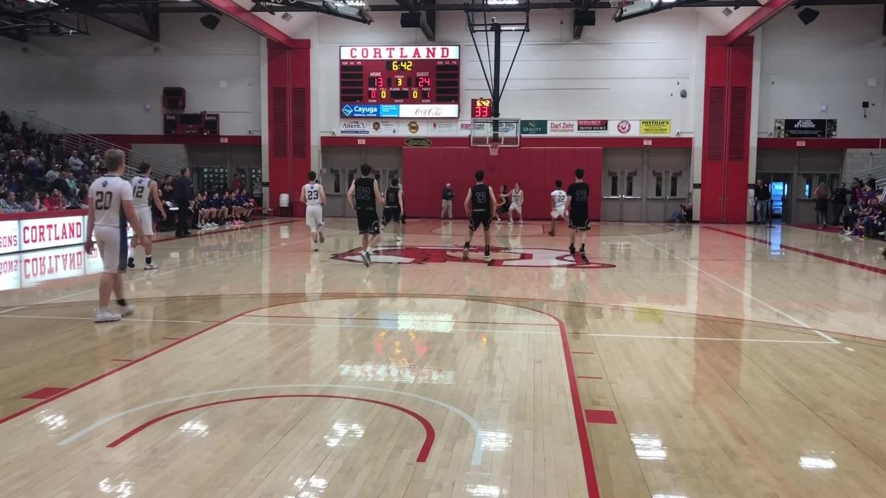 Highlights from Unadilla Valley's 50-29 win over Lansing in the Section 4 Class C boys basketball final March 2, 2019 at SUNY Cortland.