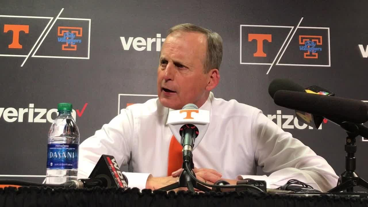 rick barnes thompson boling arena was \u0027electric\u0027 against kentucky