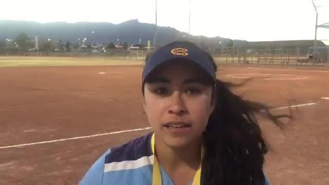 Chapin's Lexi Morales is one of city's top players on the softball field