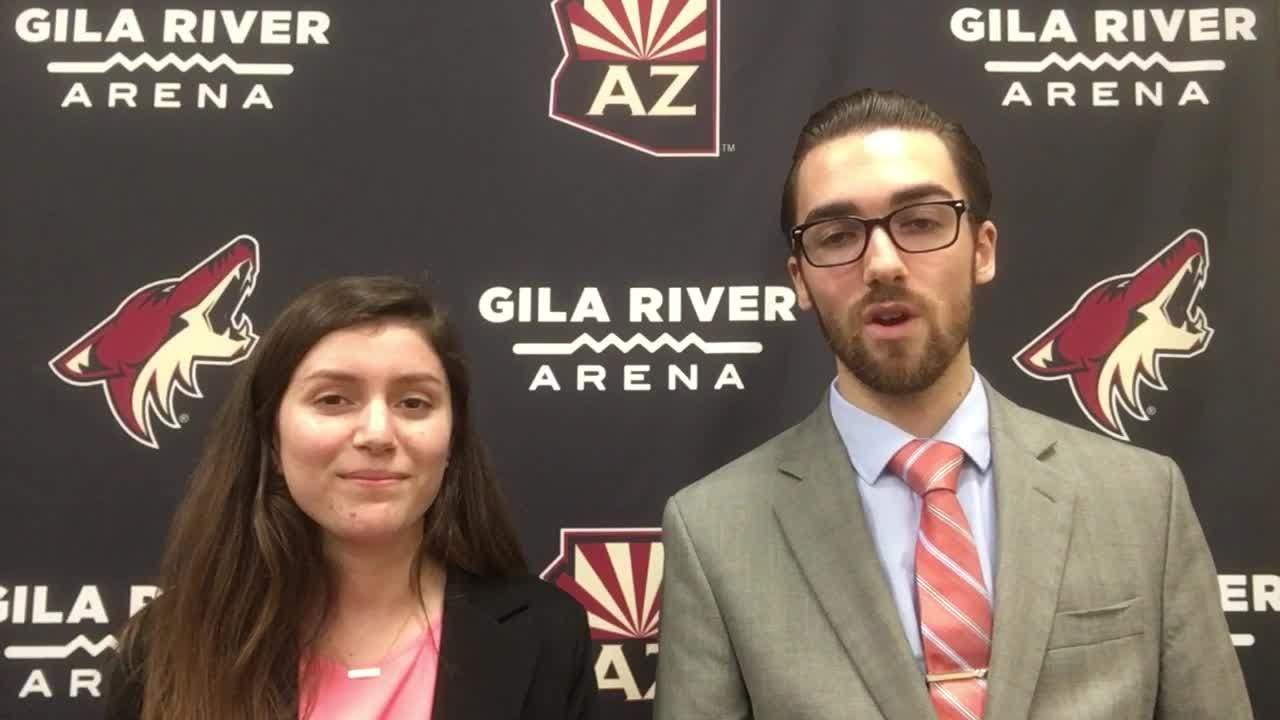 Richard Morin and Jenna Ortiz recap the Coyotes' 3-1 win vs. Red Wings
