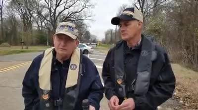Sheriff Prator and Sheriff Whittington give update on plane recovery in the Red River