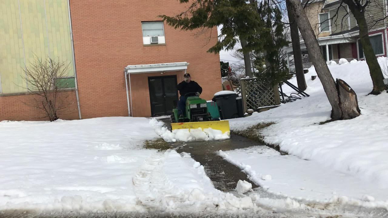 Snow removal in South River
