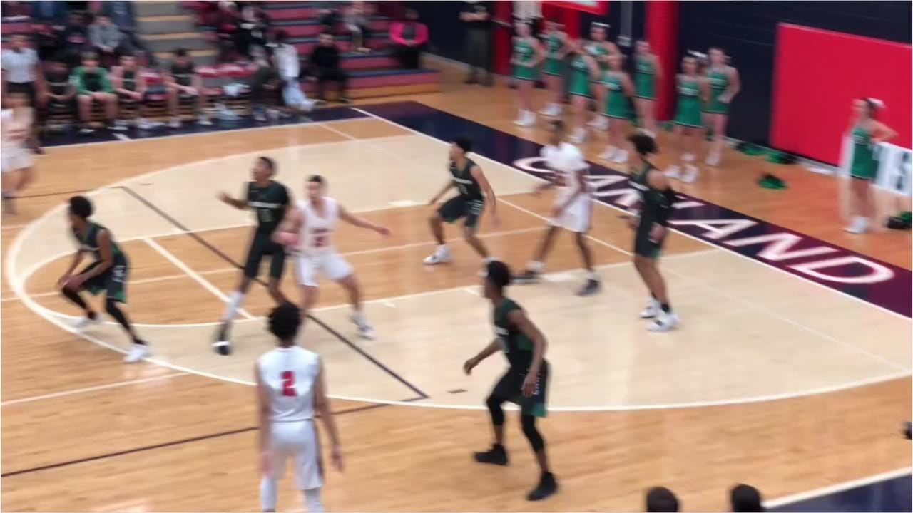 Highlights of Oakland's 61-59 win over East Hamilton in Monday's Class AAA sectional.